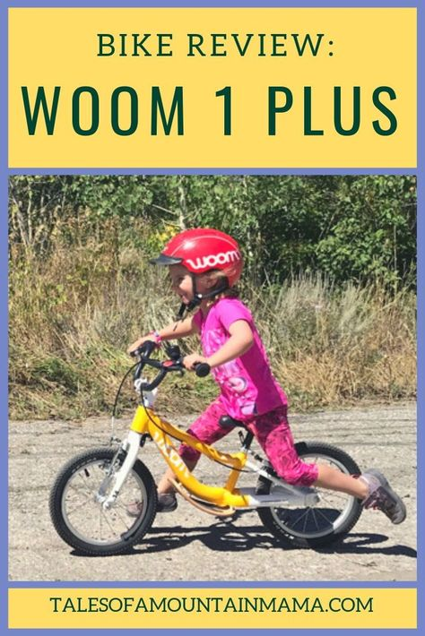 Woom 1 Plus Review Best Kids Bike Kids Bike Kids Bike Accessories