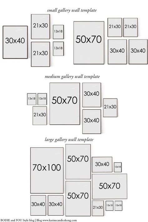home_decor - How to hang a gallery wall the perfect way