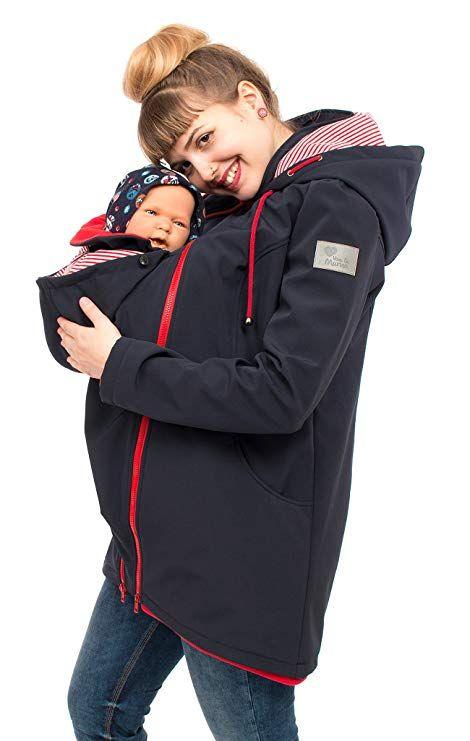 uk billig verkaufen beste Auswahl an zahlreich in der Vielfalt Viva la Mama Umstandsjacke mit Baby Trageeinsatz Regenjacke ...