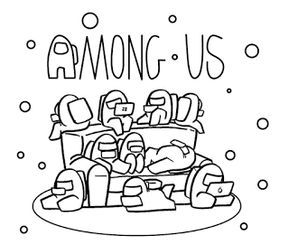 Among Us Coloring Pages Animationsa2z Coloring Pages Cute Coloring Pages Tumblr Coloring Pages