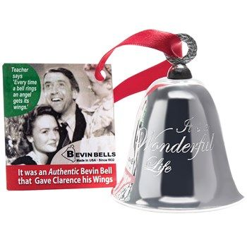 In One Of The Most Iconic Holiday Movies Little Zuzu Bailey Says Every Time A Bell Rings An Angel Gets Its Wings Christmas Bells Bells Its A Wonderful Life
