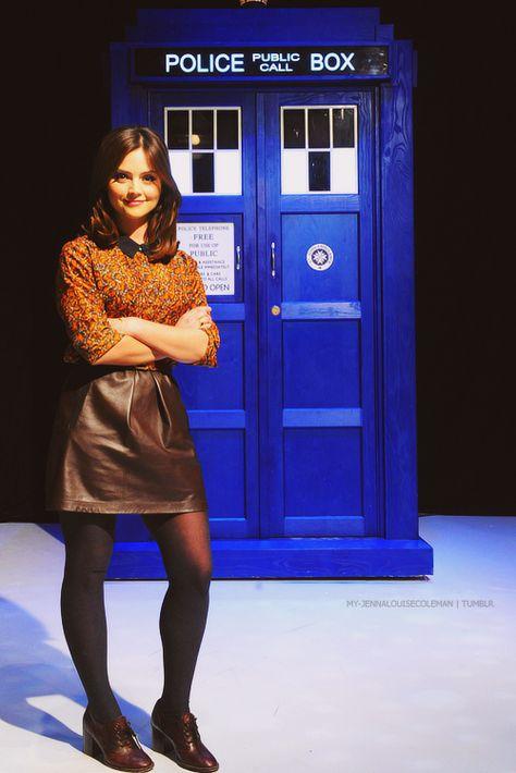 Jenna and the TARDIS