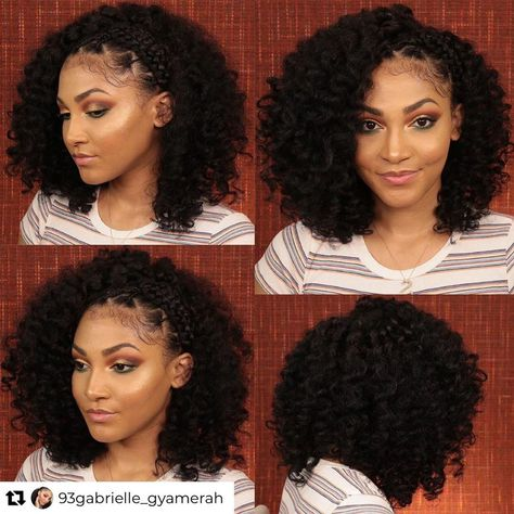 Ain't she GORGEOUS 😍😍 check out that hairstyle 😍❤️ . . Credit @93gabrielle_gyamerah . . . . . . #haircrush#hairgoals#naturalhaircommunity#curlie#curlsandbeauty#curlcrush#curlswithlove#hairpage#teamnatural#hairgrowth#curlyhaircommunity#curlyhairafro#curlsontop#curlsbeauty