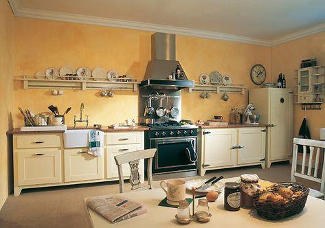 Englische landhausküche  British Stoves Old Memphis Landhausküche - Handgebaute englische ...