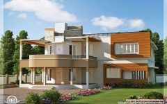 South Indian House Front Elevation Designs With House With Balcony And Porch And Modern Masters Front Door Paint Uk