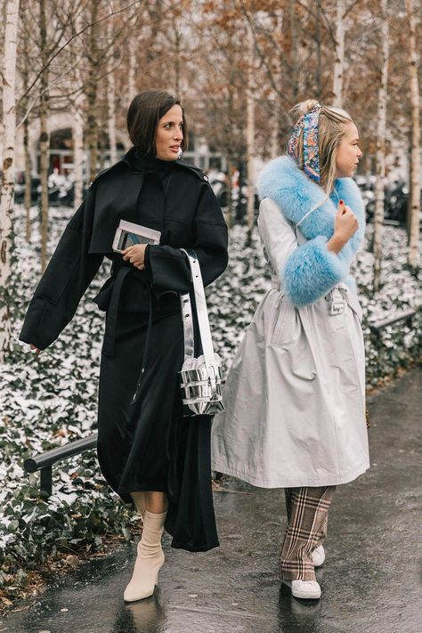 20 Fall Street Style Looks To Copy From Paris Fashion snapped by collage Vintage