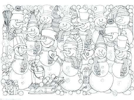 Winter Coloring Printables Winter Colouring Pages Snowman Coloring