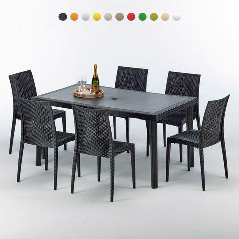 Salon de jardin | Outdoor furniture sets, Furniture, Table