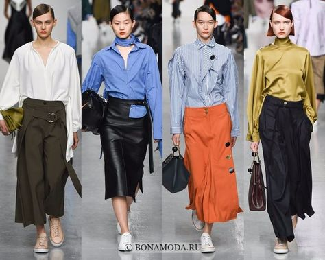 5445e5ffc2d Модные блузки и рубашки осень-зима 2017-2018  Eudon Choi – атлас ...