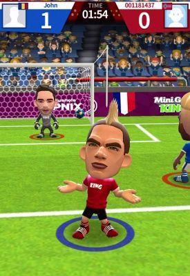 World Soccer King Is A Free Android Sport Strategy Mobile Multiplayer Football Game Featuring An Elegantly Simple Controls Football Games Soccer Football