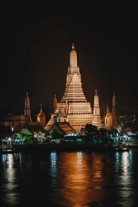 Midnight In Bangkok, Thailand