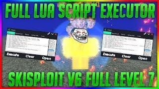 FULL LUA SCRIPT EXECUTOR] NEW ROBLOX HACK/EXPLOIT SKISPLOIT FULL