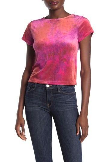 Urban Outfitters Bright Eyes Velvet T Shirt Nordstrom Rack Velvet T Shirt Eye Tees Fashion