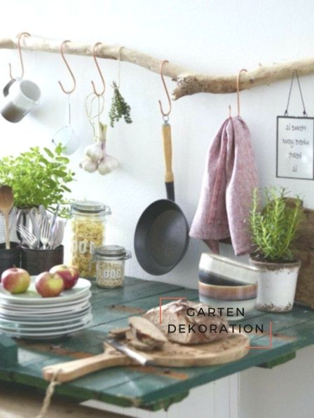A Bit Of Shabby Chic And A Pinch Of Country House Style This Pretty Kitchen Reg Diy Kitchen Decor Shabby Chic Kitchen Building A Kitchen