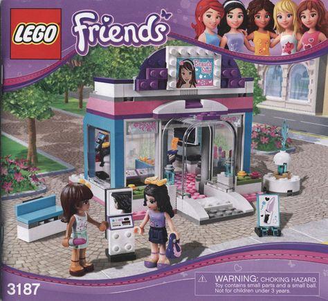 Lego Friends 3187 Butterfly Beauty Shop Retired 100 Complete