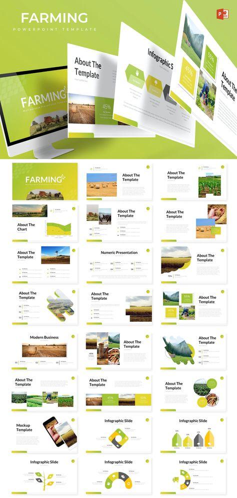 Farming Powerpoint Presentation Template
