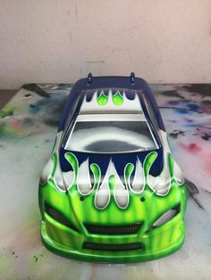 Best Rc Paint Schemes Images On Pinterest Paint Color Schemes - Custom vinyl decals for rc carsimages of cars painted with flames true fire flames on rc car