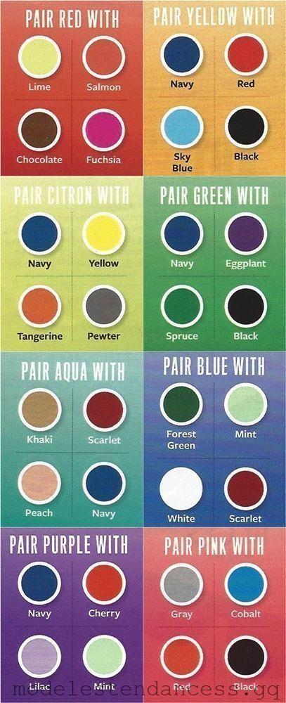 Hier Finden Sie Eine Praktische Tabelle Um Farben Zu Entdecken