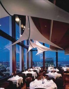 Boston S Top Of The Hub Restaurant Offers Sweeping Views From