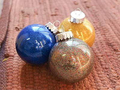 Cook~Love~Craft: DIY Glitter Ornaments