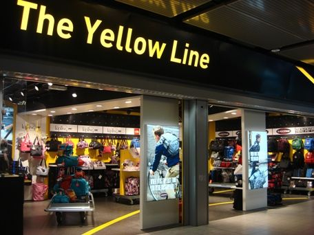The Yellow Line is an innovative new luggage concept store. Its ...