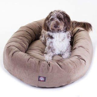 Majestic Pet 52 Faux Suede Extra Large Dog Bed Extra Large