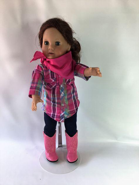 570c24cd49b Hot Pink   Teal Plaid Blouse