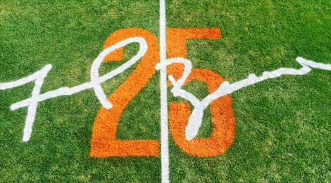 frank beamer | LOOK: Frank Beamer's signature added to field for