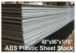 48 X96 60 Mil Abs Blank Stencil Sheet Plastic Sheets Sheet Abs
