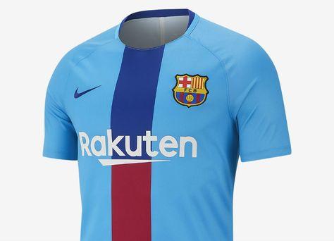 4d4a72ee4  barca  fcbarcelona Nike FC Barcelona Dri-FIT Squad Football Top - Equator  Blue   Deep Royal Blue