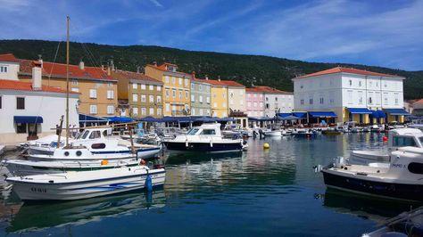 Stadt Cres, Insel Cres, Kvarner Bucht, Kroatien
