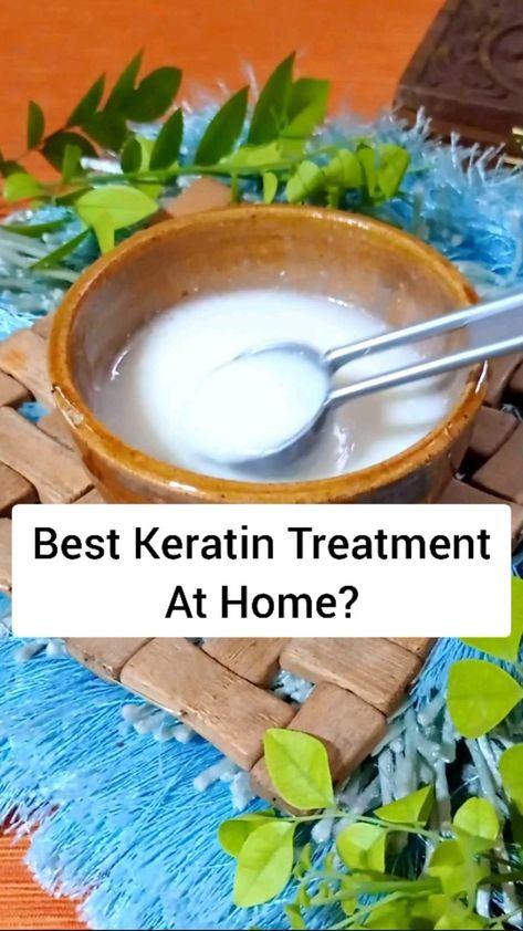 Keratin Hair Treatment At Home