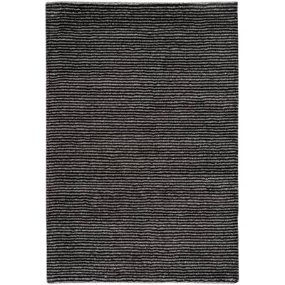 Hokku Designs Maze Hand Knotted Black White Area Rug Wayfair Area Rugs Black Area Rugs Capel