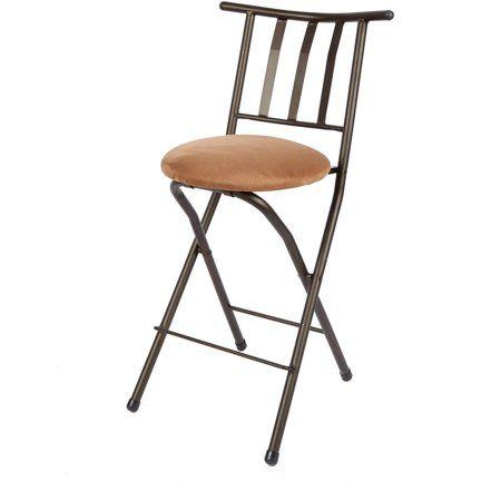 Fabulous Mainstays 35 Slat Back Counter Height Barstool Beige Creativecarmelina Interior Chair Design Creativecarmelinacom