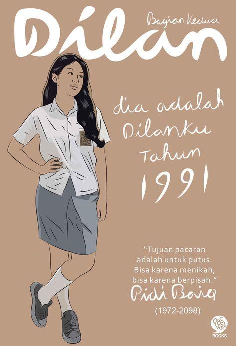 E Book Dilan 2 Dia Adalah Dilanku Tahun 1991 Pidi Baiq Novel