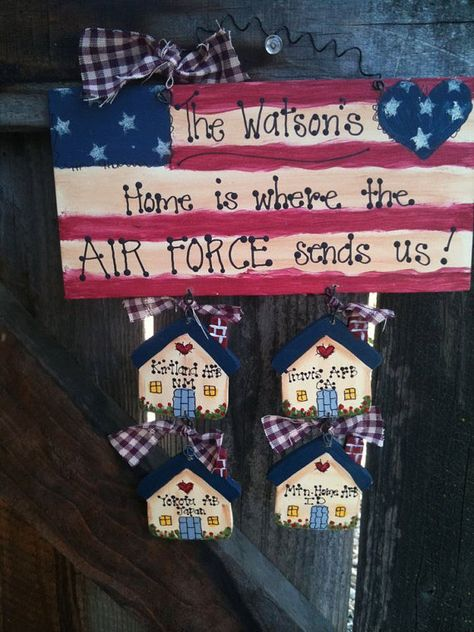 Personalized Home is where the Military Sends Us -- want to make one!