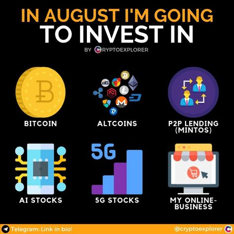 Which crypto to invest im august 2020