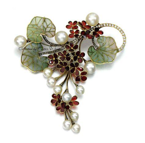 Grape Vine Necklace Set Fox Grapes Vintage Style Handmade Jewelry