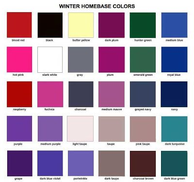 and there they are, all the colors I've been loving and wearing for the past year. homebase colors: DEEP WINTER