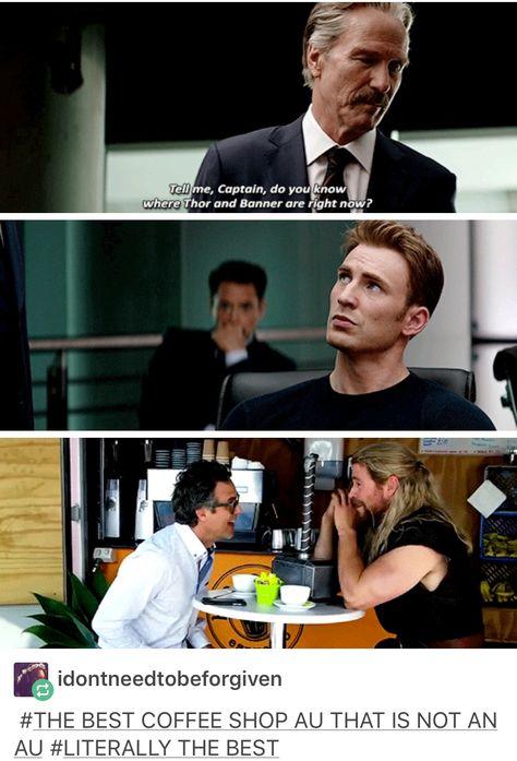 Bruce banner, Thor Odinson, civil war: team Thor, marvel, mcu, avengers, cacw, captain America civil war