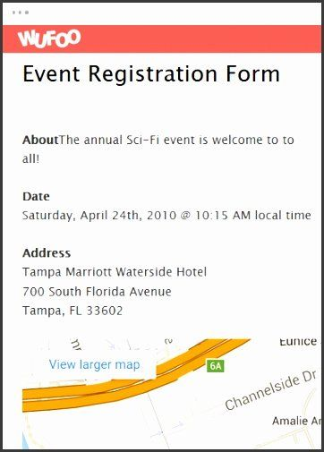 Conference Registration Form Template Word Fresh 10 Event Registration Form Template Registration Form Event Registration Customer Satisfaction Survey Template