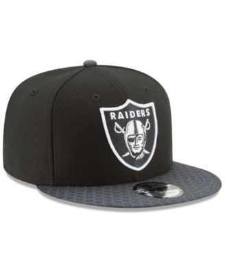 more photos los angeles huge sale New Era Oakland Raiders Sideline 9FIFTY Snapback Cap - Gray ...