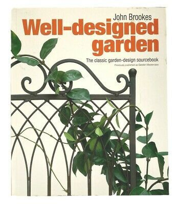 Well Designed Garden Classic Design Book Guide Trade Paperback Excellent Deal In 2020 Wellness Design Classic Garden Design Gardening Books