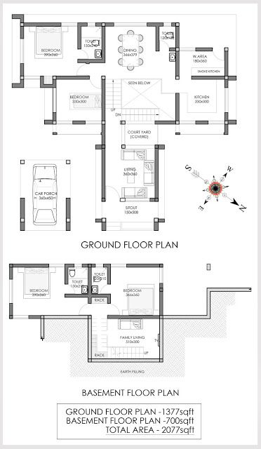 Cost Effective Eco Friendly Home Design With Free Plan 4 Bedroom Beautiful Home Design Wi Unique House Plans Modern House Design Small House Design Exterior