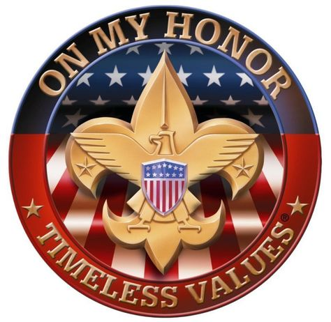 Eagle Scout ON MY HONOR Court of Honor Ceremony 1/4 or 1/2 Sheet Birthday Cake T #BakeryQualityRealFrostingSheet