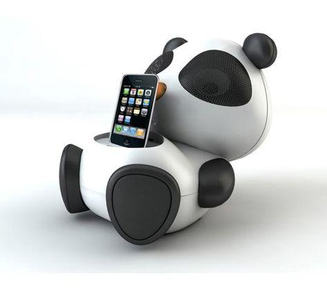 Panda Speaker by brightonnet.co.jp