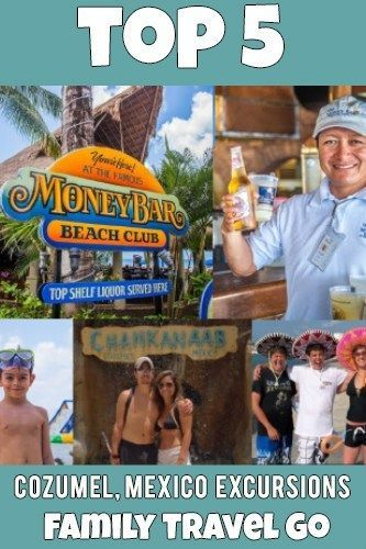 Our Top 5 Favorite Cozumel Excursions Cozumel Excursions Family
