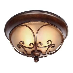 Lumenno International Charry 3 Light Bronze Flush Mount 1003 06 17 The Home Depot Golden Lighting Ceiling Lights Flush Mount Ceiling Lights