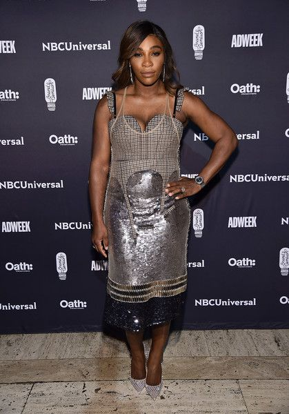 Serena Williams attends the 2018 Brand Genius Awards at Cipriani 25 Broadway.