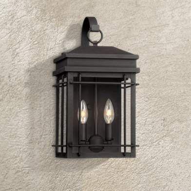 Hinkley Revere Medium Sienna Outdoor Wall Lantern 2x529 Lamps Plus Black Outdoor Wall Lights Outdoor Lighting Design Wall Lights